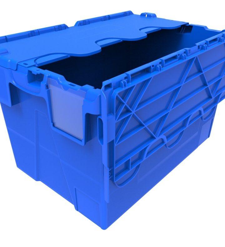 Uzamykateľný box prepraví výrobky bezpečne a bez rizika straty